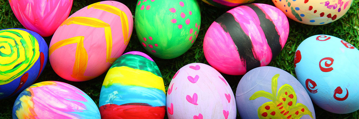 Hacemos huevos de pascua!