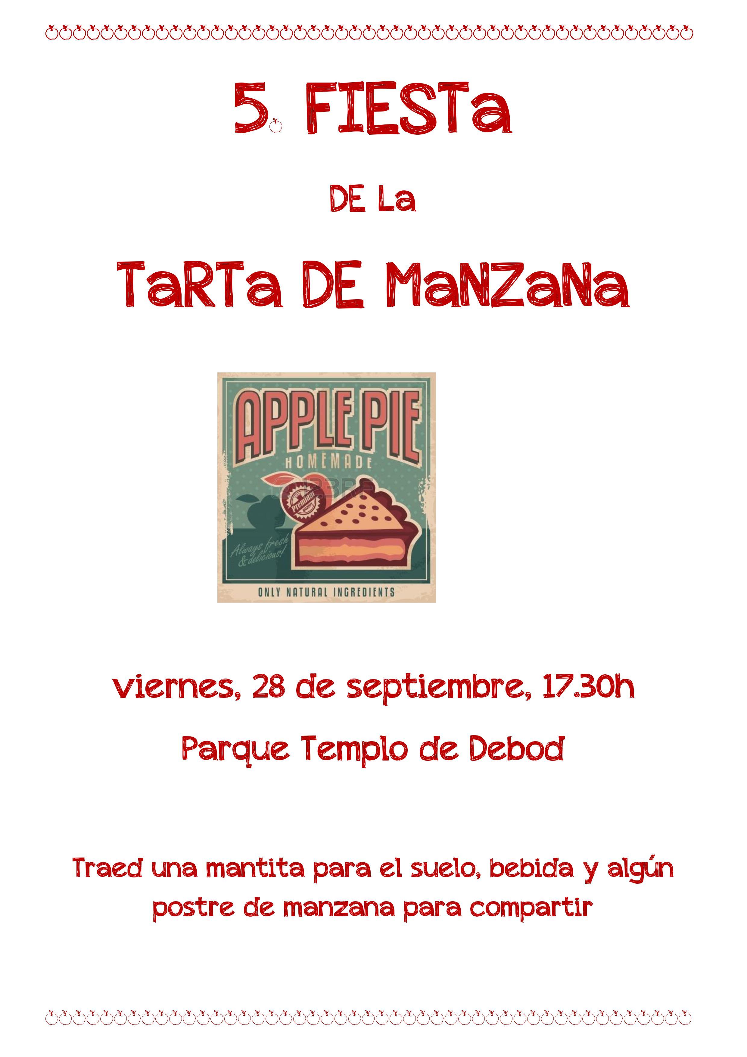 FIESTA DE LA TARTA DE MANZANA