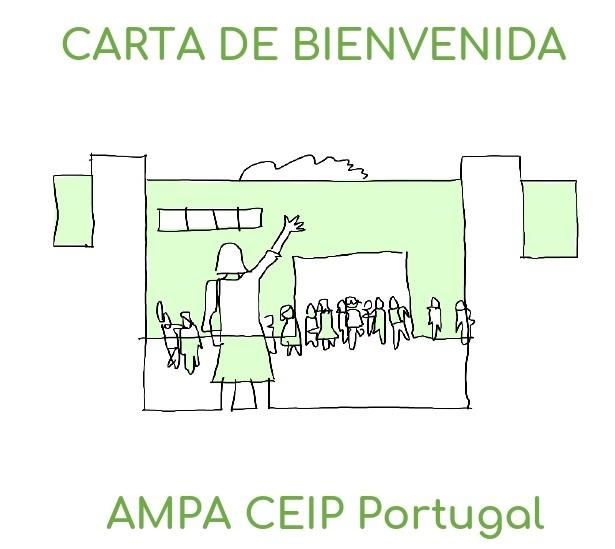 Carta de bienvenida AMPA Portugal 20/21